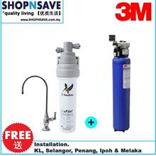3M AP902 Outdoor Filter + Doulton Ecofast Biotect Ultra [under counter