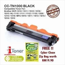 Brother TN1000 + 50% Extra Yield + FREE Cyber Clean Zip Bag