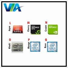 INTEL Core i3 / Core i5 / Core i7 / nVidia GTX / Windows 10 STICKER