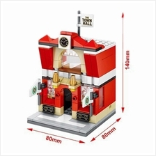 Sembo Block SD6520 Mini Street: The Town Hall (with LED)
