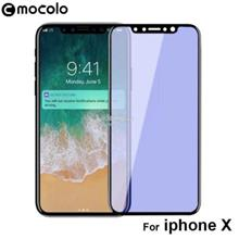 APPLE IPHONE X PE BLUE LIGHT 3D FULL Coverage MOCOLO TEMPERED GLASS