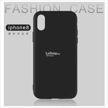 APPLE IPHONE X Matte Full Black Protection Soft TPU Case