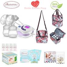 Autumnz SERENE Double Electric Breastpump Package - Henna Pink Brown