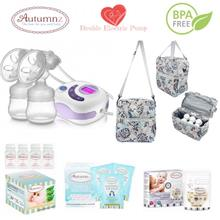 Autumnz SERENE Double Electric Breastpump Package - Henna Grey
