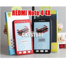 Redmi Note 4 4X 360 FULL Protection TPU with Tempered Glass Case