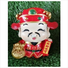H 12 CM Chinese God Of Wealth Cai Shen Ye 财神爷  A