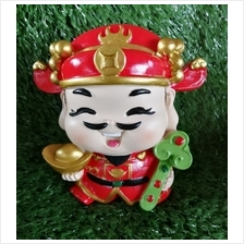 H 12 CM Chinese God Of Wealth Cai Shen Ye 财神爷 B