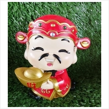 H 12 CM Chinese God Of Wealth Cai Shen Ye 财神爷 C