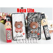 HUAWEI NOVA Lite Smile Teddy Bear with Short Strap