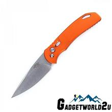Ganzo F7582AL-OR Button Lock Aluminium Handle Folding Knife