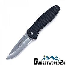 Ganzo G6252-BK Liner Lock Fiberglass Handle Folding Knife