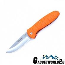Ganzo G6252-OR Liner Lock Fiberglass Handle Folding Knife