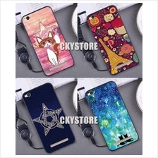 XIAOMI Redmi 4A/ Redmi 4X Trendy Cartoon TPU Case with Strap