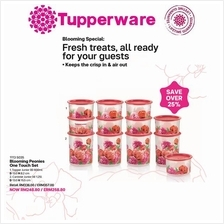 Tupperware Blooming Peonies One Touch Set (12pcs)