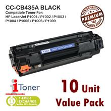 HP 35A CB435A Grade-A Compatible Toner (10 Unit Pack)