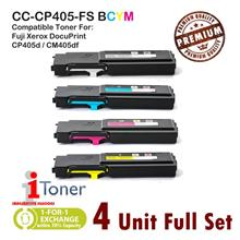 Fuji Xerox CP405 / CP405d / CM405 / CM405df (4 Unit Full Set)