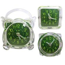 Mini Transparent Travelling Alarm Clock