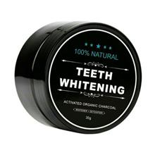 Teeth Whitening Powder Organic Charcoal Bamboo Amour Natural