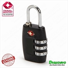 TSA Approved Locker Padlock 3 Digit Password Safe Lock
