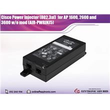 Cisco Power Injector (802.3af)  for AP 1600, 2600 and 3600 w/o mod