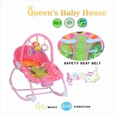 Baby Bouncer Pink With Toys