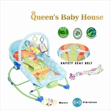 Baby Bouncer Blue With Toys
