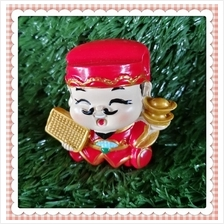 H 5.5 CM Chinese God Of Wealth Cai Shen Ye 财神爷 A