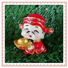H 5.5 CM Chinese God Of Wealth Cai Shen Ye 财神爷 C