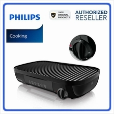 Original Philips Electric Grill HD6321 With Ribbed & Smooth Plates
