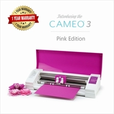 Silhouette Cameo V3 Plotter (Pink Edition)