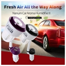 Nanum II Mini Car Air Humidifier Double USB  - Generation 2