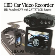 HD DVR -Portable 2.5' TFT LCD Screen - CAR CAMCORDER & CAMERA