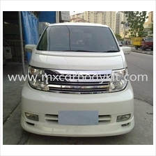NISSAN ELGRAND 2005 E51 W-BLOOD STYLE FRONT BUMPER