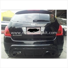NISSAN MURANO 2004-2008 J-EMOTION DESIGN REAR SKIRT