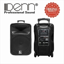 Denn SE-636 Recording AC / DC Portable Trolley PA Voice Record System