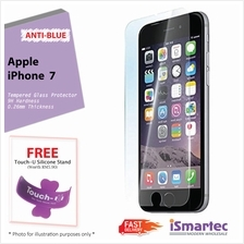 Apple iPhone 7 Anti-Blue Tempered Glass Protector 0.26mm + 9H Hardness..