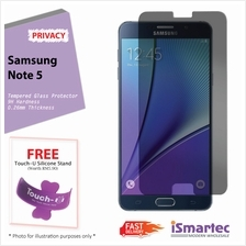 Samsung Galaxy Note 5 N920T Privacy Tempered Glass Protector 0.26mm + ..