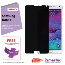 Samsung Galaxy Note 4 N910F Privacy Tempered Glass Protector 0.26mm + ..