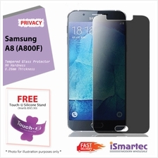 Samsung Galaxy A8 A800F Privacy Tempered Glass Protector 0.26mm + 9H H..