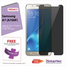 Samsung Galaxy A7 A700F Privacy Tempered Glass Protector 0.26mm + 9H H..