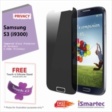 Samsung Galaxy S3 i9300 Privacy Tempered Glass Protector 0.26mm + 9H H..
