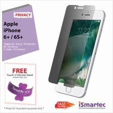 Apple iPhone 6 Plus / iPhone 6s Plus Privacy Tempered Glass Protector ..
