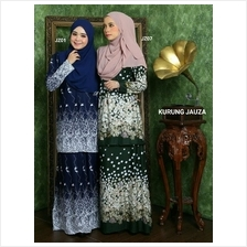 BAJU KURUNG MODEN MUSLIMAH NURSING AND WUDHU FRIENDLY - KURUNG JAUZA)