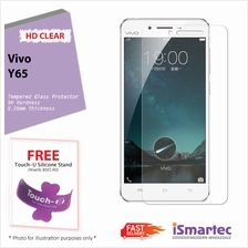 Vivo Y65 Tempered Glass Protector 0.26mm + 9H Hardness (HD Clear)