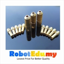 2-0.7mm Copper Drill Bit Collet Fitting Chuck Shaft