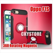 OPPO F1s A59 360 Rotating RING Standable Magnetic Tough Case