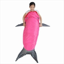 SOFT FLANNEL KIDS SLEEPING BAG / BLANKET FOR OUTDOOR / TRAVEL / HOME (