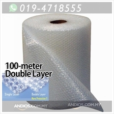 Bubble Wrap Double Layer 100meter*1meter 10mm Packaging Wrap Post Parc