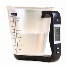 HOSTWEIGH NS - C01 LCD SCALE MEASURING CUP WEIGHING DEVICE THERMOMETER