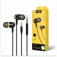 3.5MM In Ear Earphone Earbuds with In-line Microphone Headphone